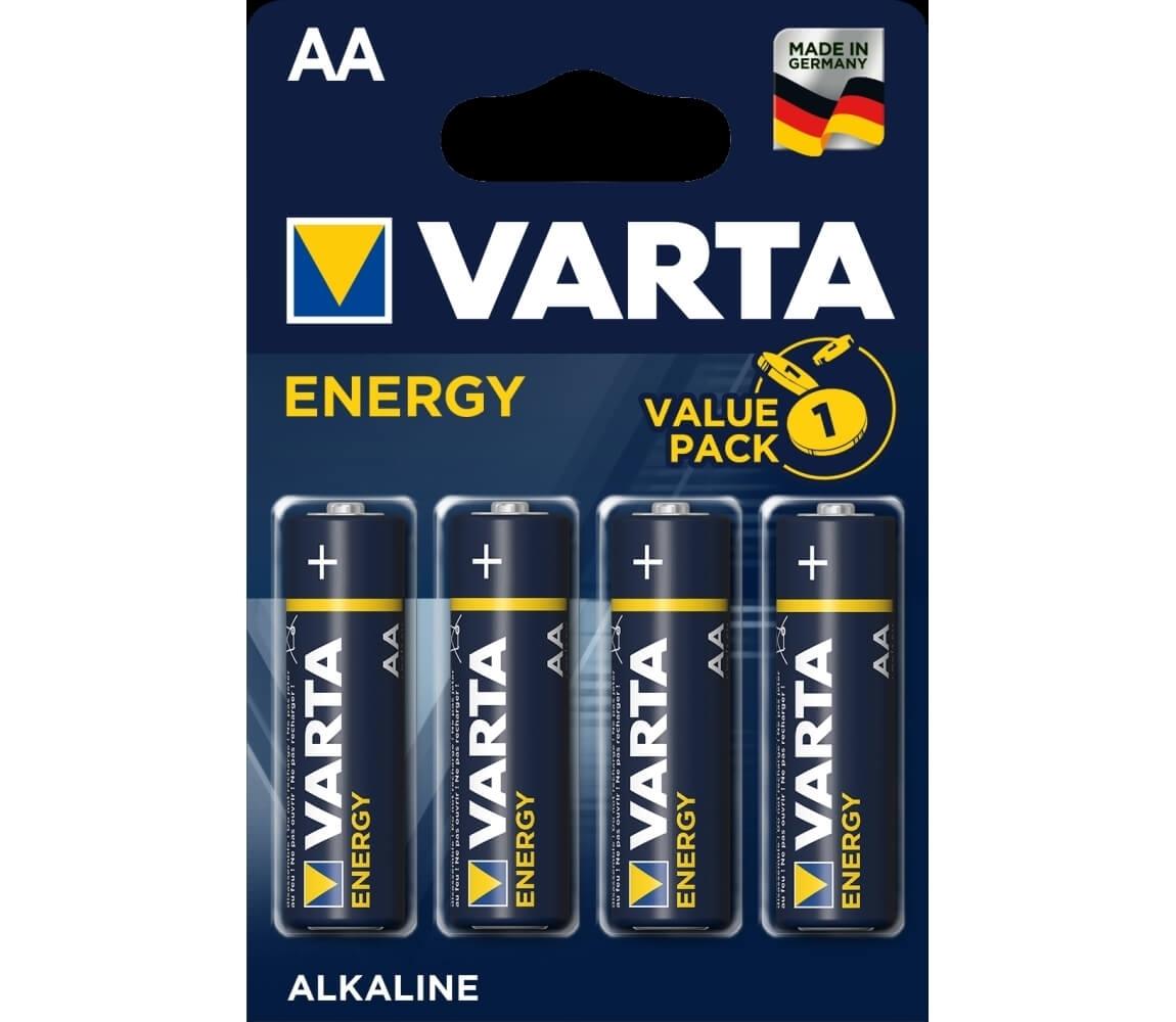 Batérie tužkové AA VARTA - 4 ks