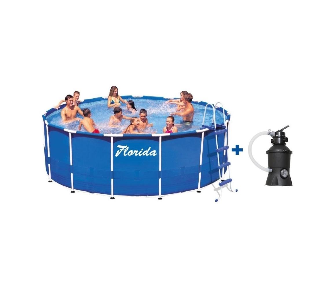 Bazén Florida 3,05 x 0,76 m s pieskovou filtráciou 2m3/h
