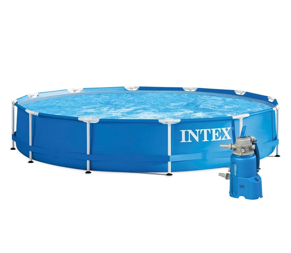 Bazén Florida 3,66x0,76 m s pieskovou filtráciou