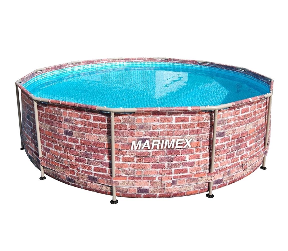 Bazén Florida 3,66x0,99 m bez príslušenstva - motív TEHLA