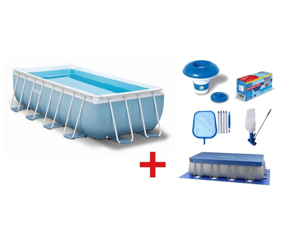 Bazén Florida Premium 2,00x4,00x1,00m s kartušovou filtráciou a príslušenstvom