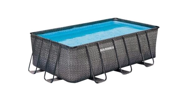 Bazén Florida Premium 2,15x4,00x1,22 m bez príslušenstva - motív RATAN