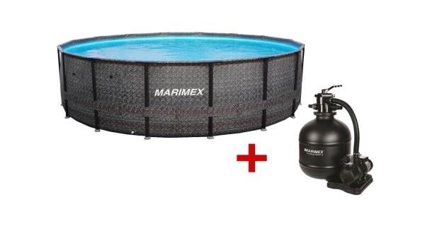 Bazén Florida Premium 4,88x1,22m s filtráciou - motív RATAN