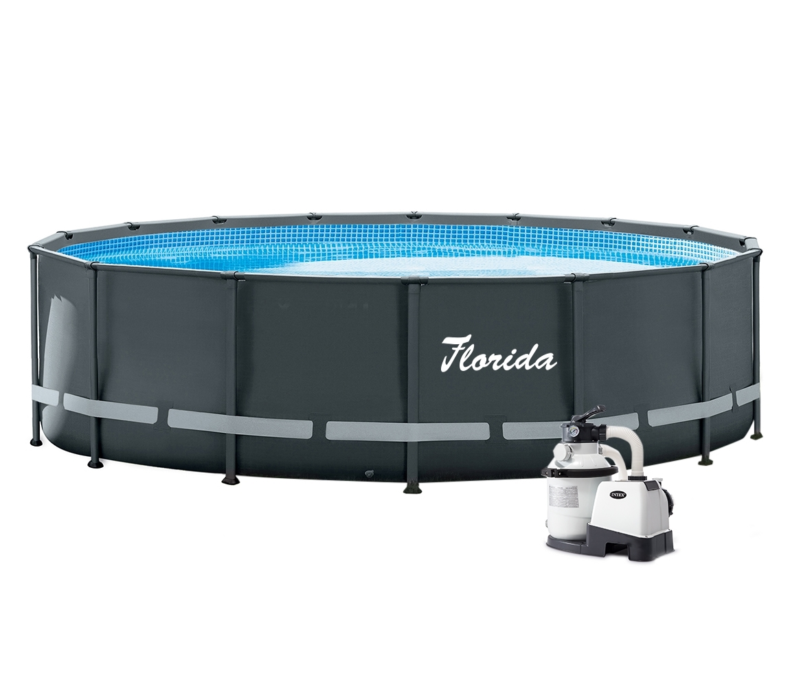 Bazén Florida Premium Grey 4,88 x 1,22 m s pieskovou filtráciou Sand 4