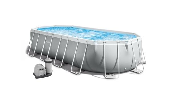 Bazén Florida Premium ovál 5,03x2,74x1,22 m s kartušovou filtráciou a príslušenstvom
