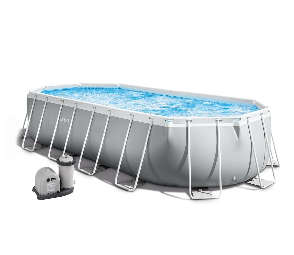 Bazén Florida Premium ovál 6,10x3,05x1,22 m s kartušovou filtráciou a príslušenstvom