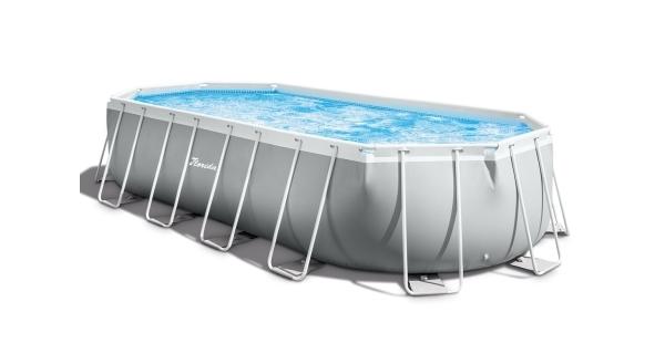 Bazén Florida Premium ovál PRISM 6,10 x 3,05 x 1,22 m s kartušovou filtráciou a príslušenstvom