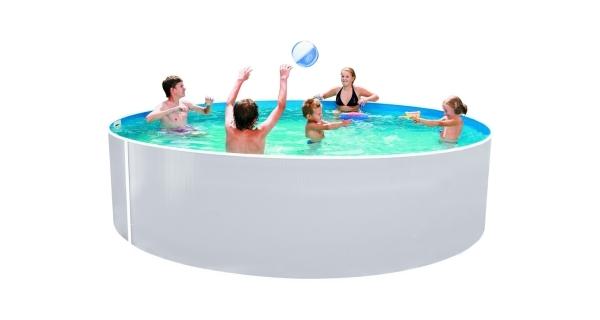 Bazén Orlando 3,66x0,91 - BIELE