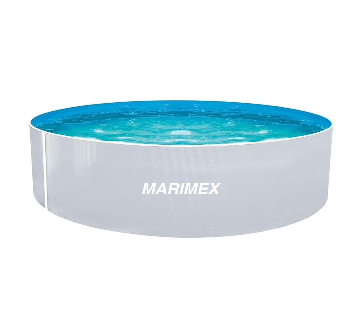 Bazén Orlando 3,66x0,91 m s pieskovou filtráciou a príslušenstvom - motív biely