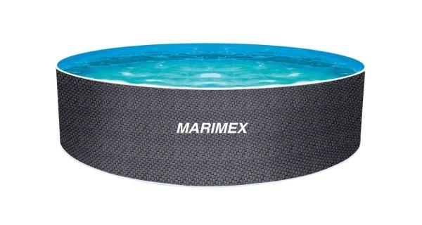 Bazén Orlando 3,66x1,22 m bez filtrácie- motív RATAN