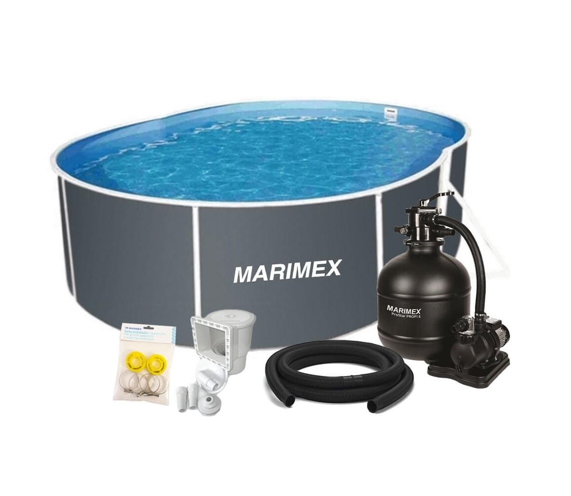 Bazén Orlando Premium DL 3,66x7,32x1,22 m s pieskovou filtráciou a príslušenstvom