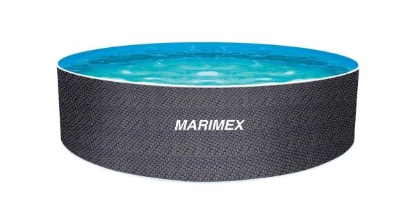 Bazén Orlando Premium DL 4,60x1,22 m RATAN bez prísl.
