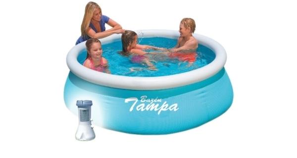 Bazén Tampa 1,83x0,51 m s kartušovou filtráciou