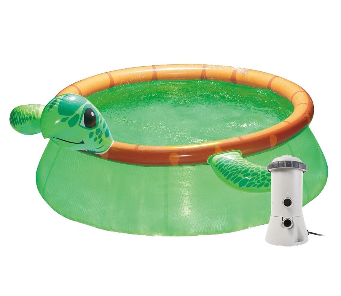 Bazén Tampa 1,83x0,51 m s kartušovou filtráciou - motív Korytnačka