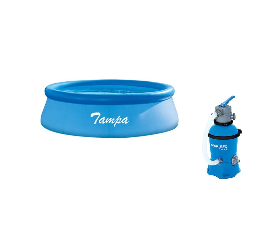Bazén Tampa 3,05 x 0,76 m + príslušenstvo - set SMART 3