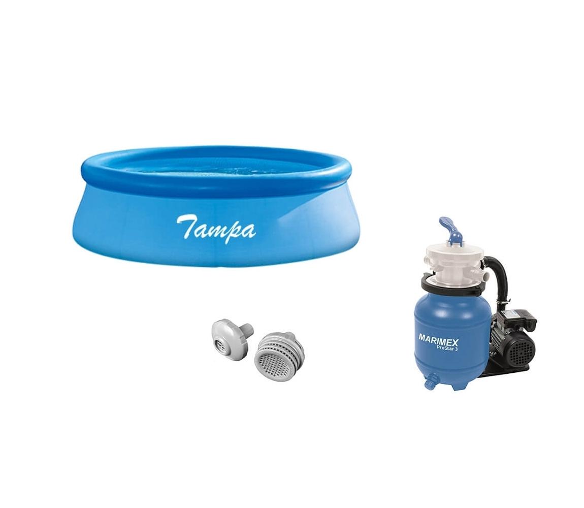 Bazén Tampa 3,05 x 0,76 m + príslušenstvo - set SMART 4
