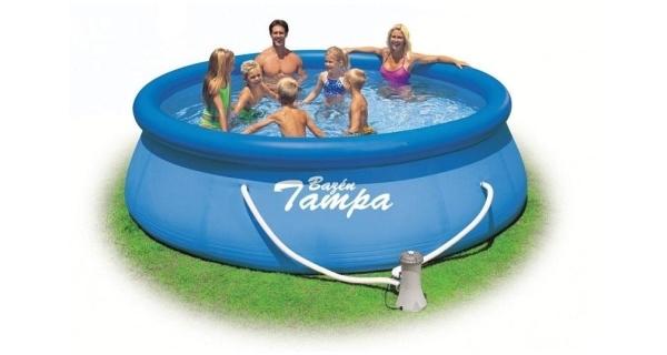 Bazén Tampa 3,66 x 0,91 m s kartušovou filtráciou