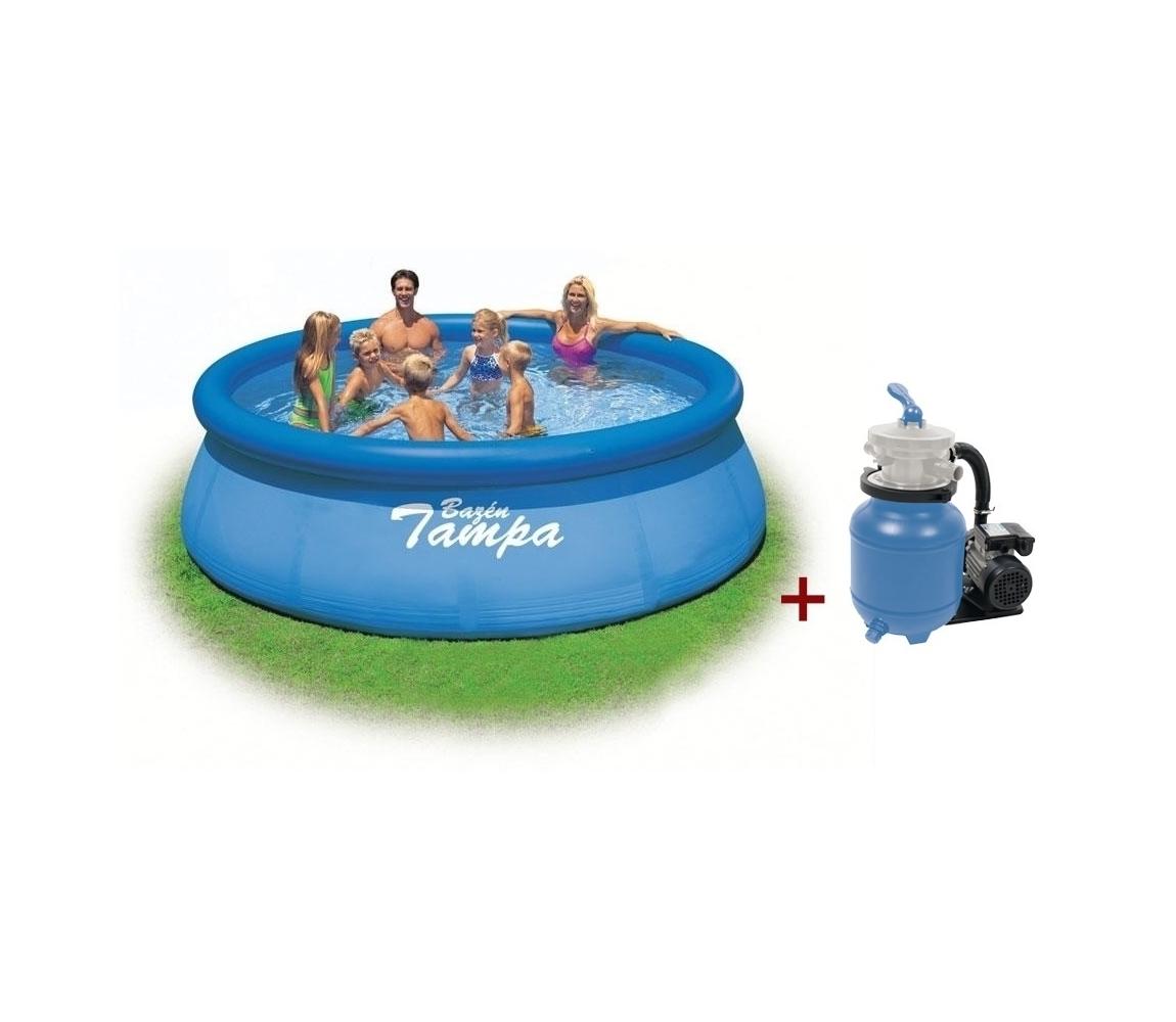 Bazén Tampa 3,66x0,91m s pieskovou filtráciou ProStar 3
