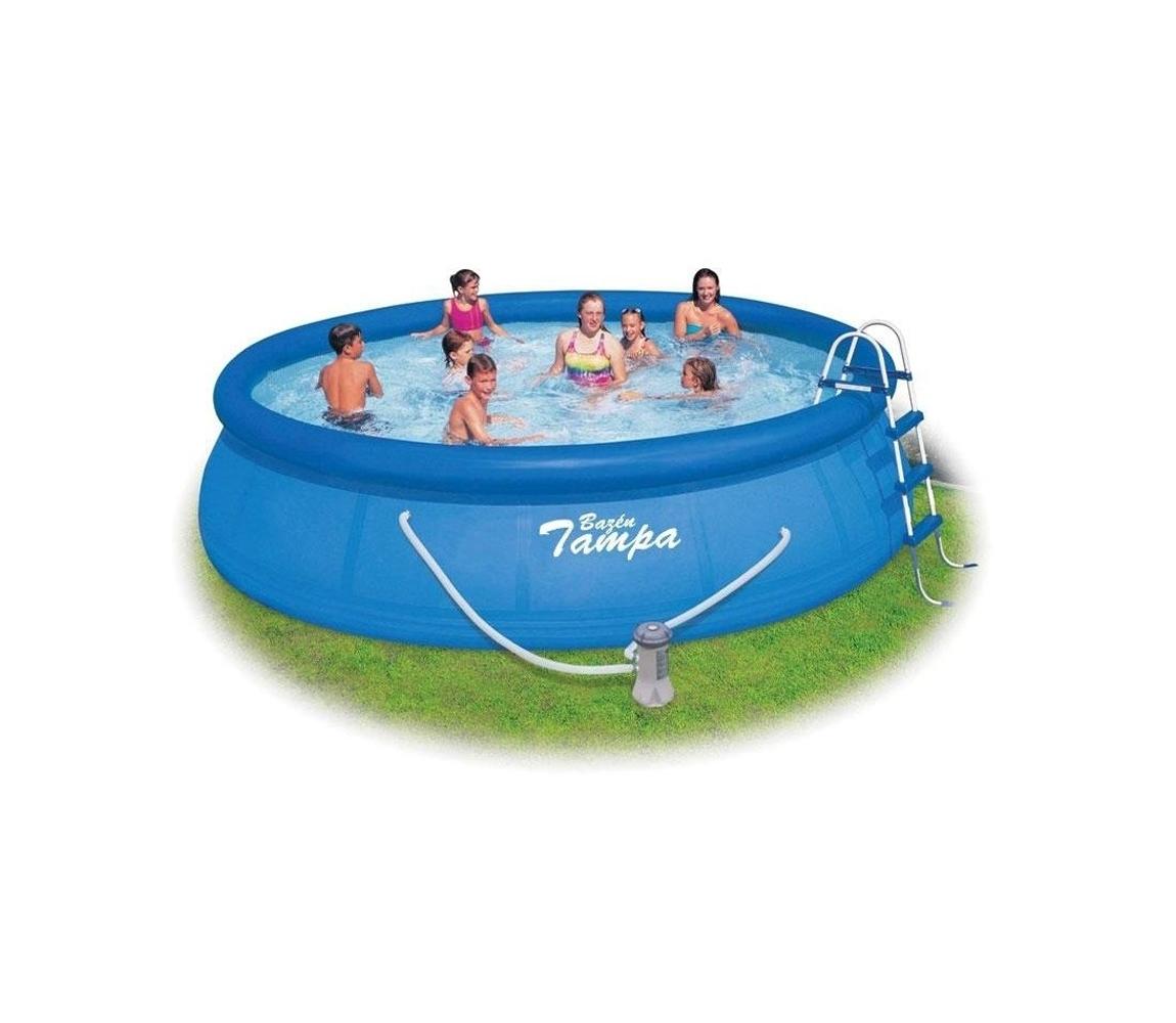 Bazén Tampa 4,57 x 1,07 komplet s kartušovou filtráciou