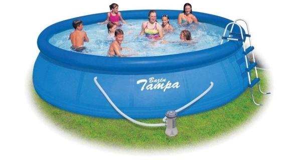 Bazén Tampa 4,57x1,22 m s kartušovou filtráciou