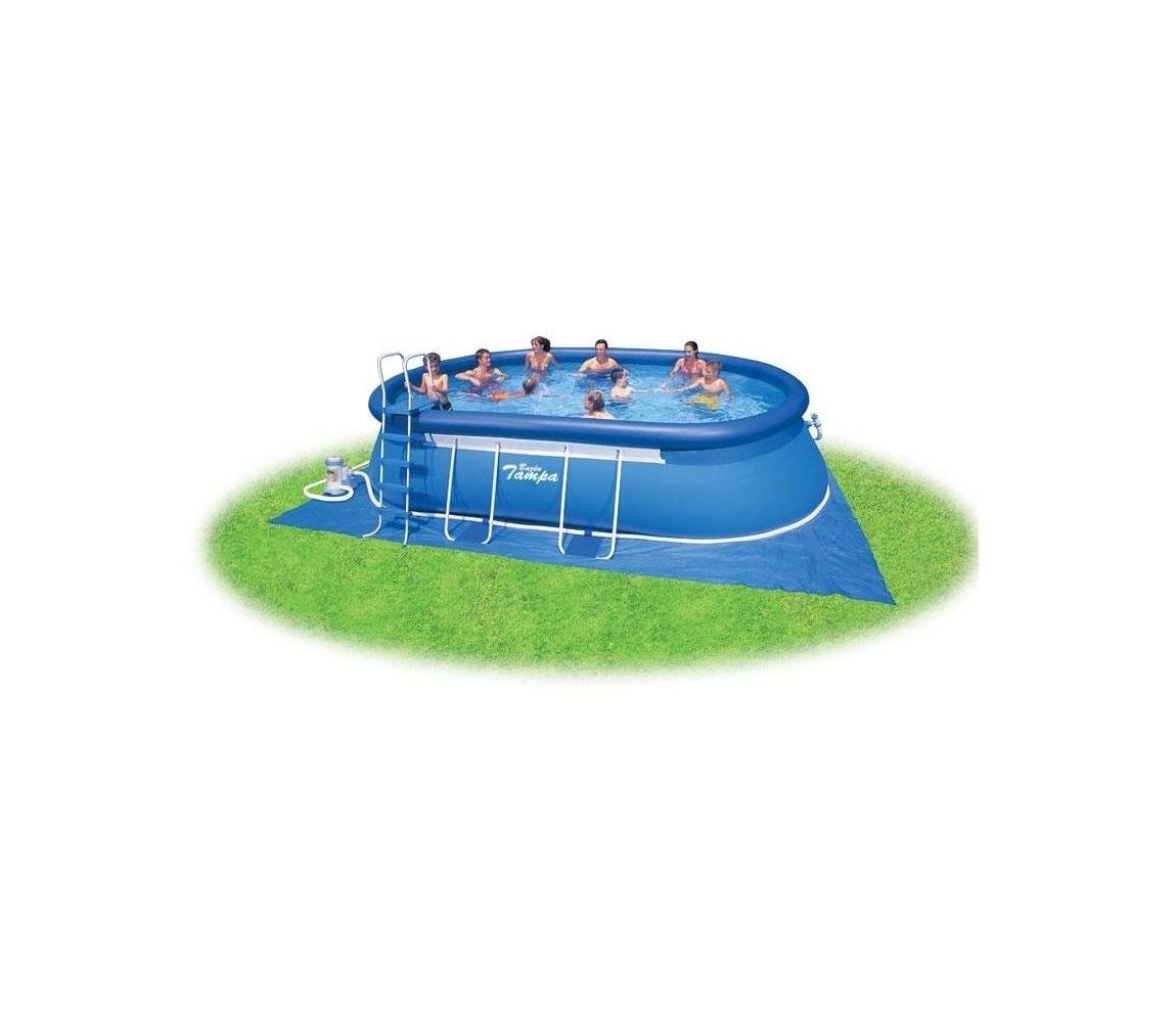 Bazén Tampa ovál 3,05 x 5,49 x 1,07 m s kartušovou filtráciou