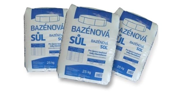Bazénová soľ Marimex - 3 x 25 kg