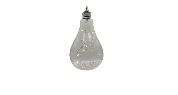 Crystal závesná žiarovka 12 LED