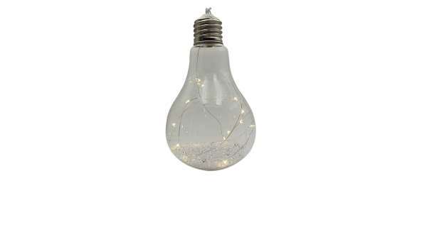 Crystal závesná žiarovka 15 LED