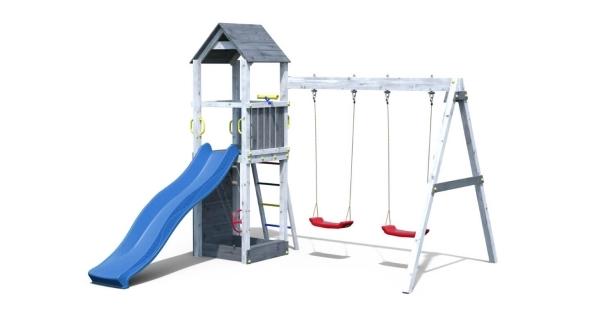 Detské ihrisko Marimex Play 006 - sivobiele