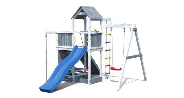 Detské ihrisko Marimex Play 009 - sivobiele