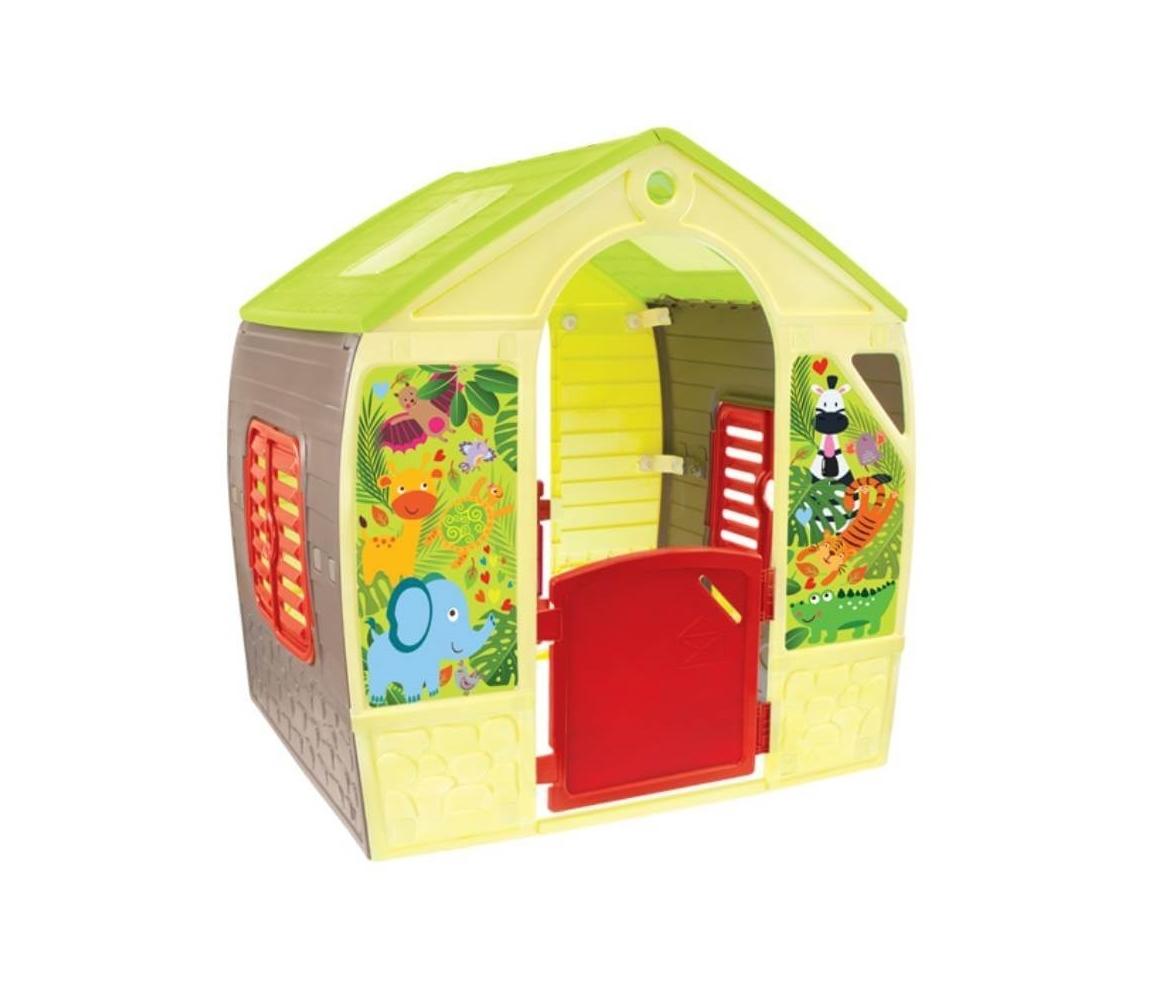 Detský domček Mochtoys so zvieratkami