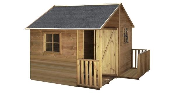 Detský drevený domček Chalupa