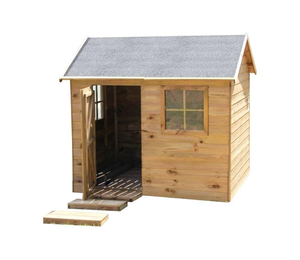 Detský drevený domček Chata