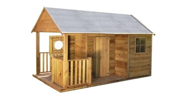Detský drevený domček Farma