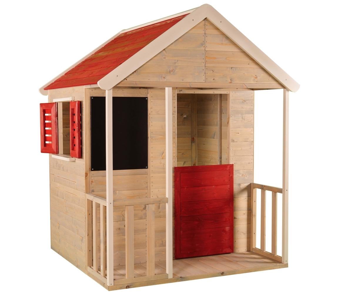 Detský drevený domček Veranda