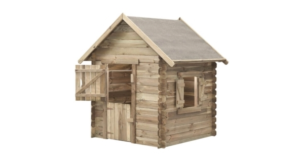 Detský drevený domček Western