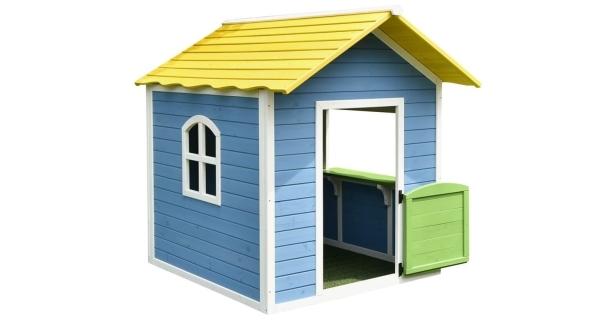 Domček detský drevený Stánok