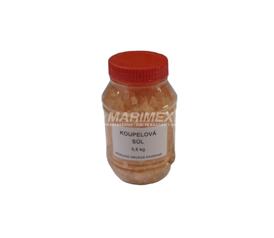 Drvená soľ v dóze 0,5 kg - orange