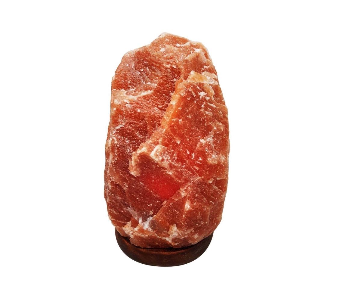 Elektrická soľná lampa 2-4 kg - červená