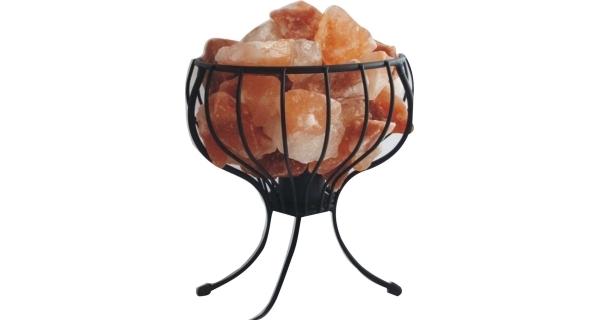 Elektrický kovový stojan so soľnými kryštálmi 3-4 kg