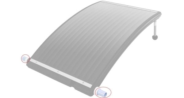 Hadicový adaptér k solárnemu ohrevu Slim 3000