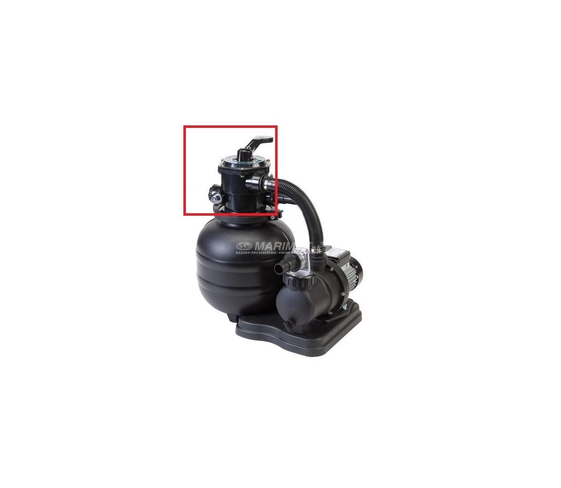 Hlava 6cestná k filtrácii BlackStar 4 m3/h