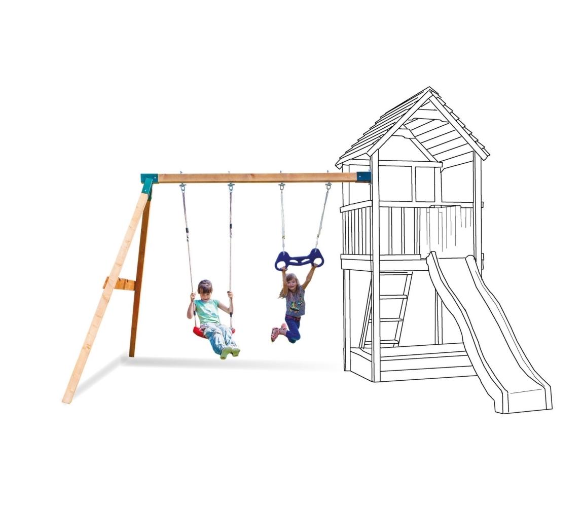 Hojdačka k detským ihriskám MARIMEX PLAY 002 ( prídavný modul )