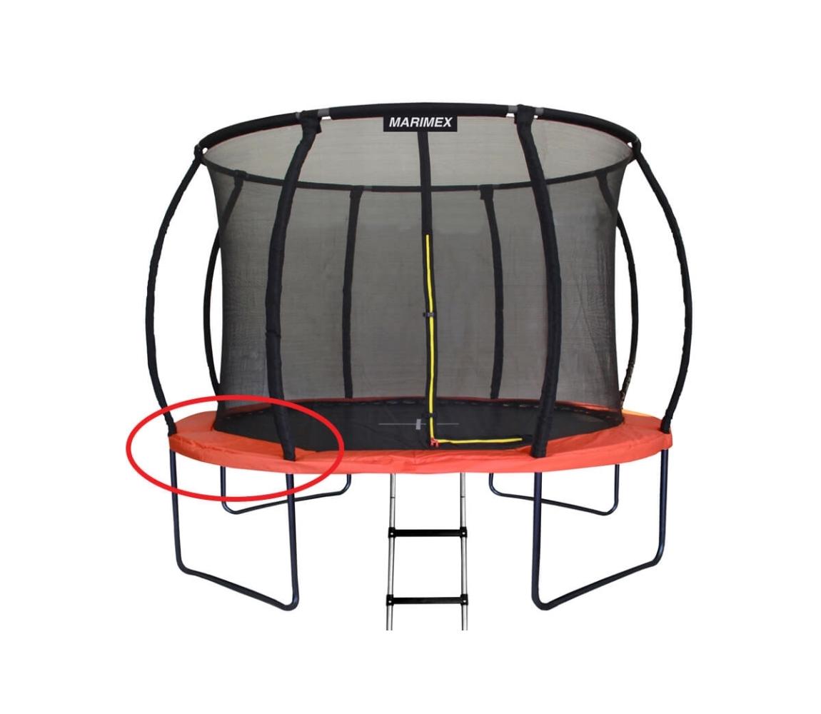 Kryt pružín oranžový - trampolína Marimex Premium 305 cm