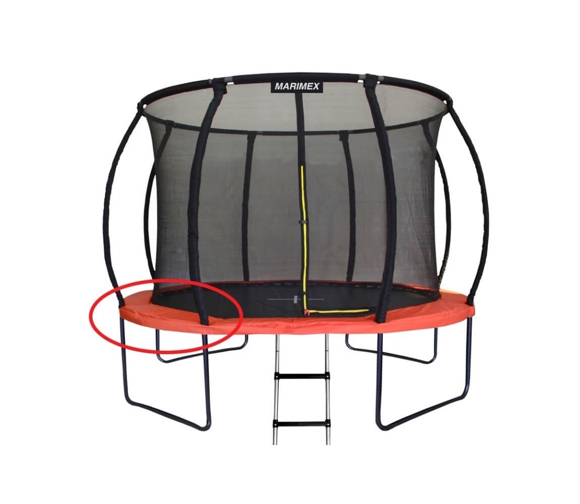 Kryt pružín oranžový - trampolína Marimex Premium 366 cm