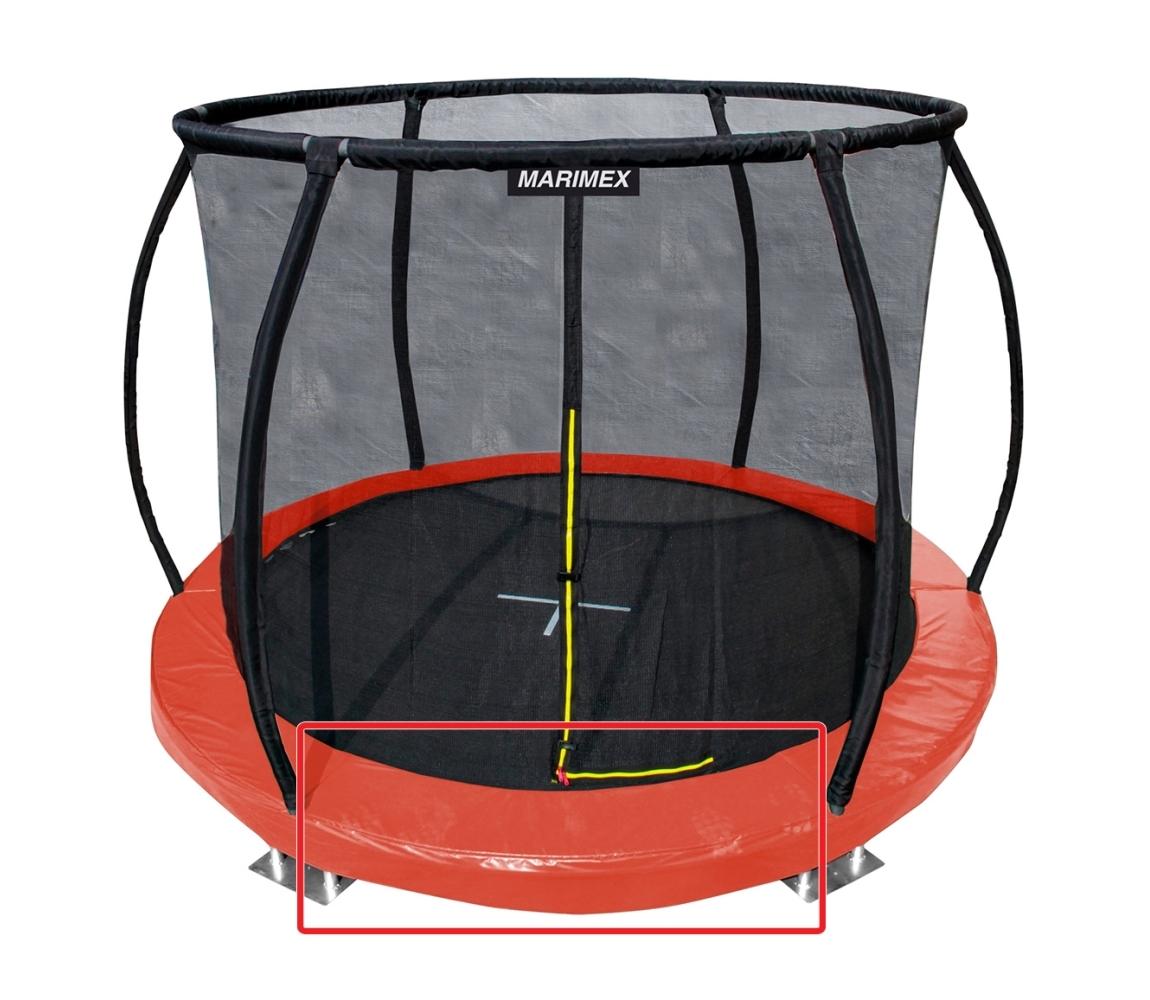 Kryt pružín oranžový - trampolína Marimex Premium in-ground 305