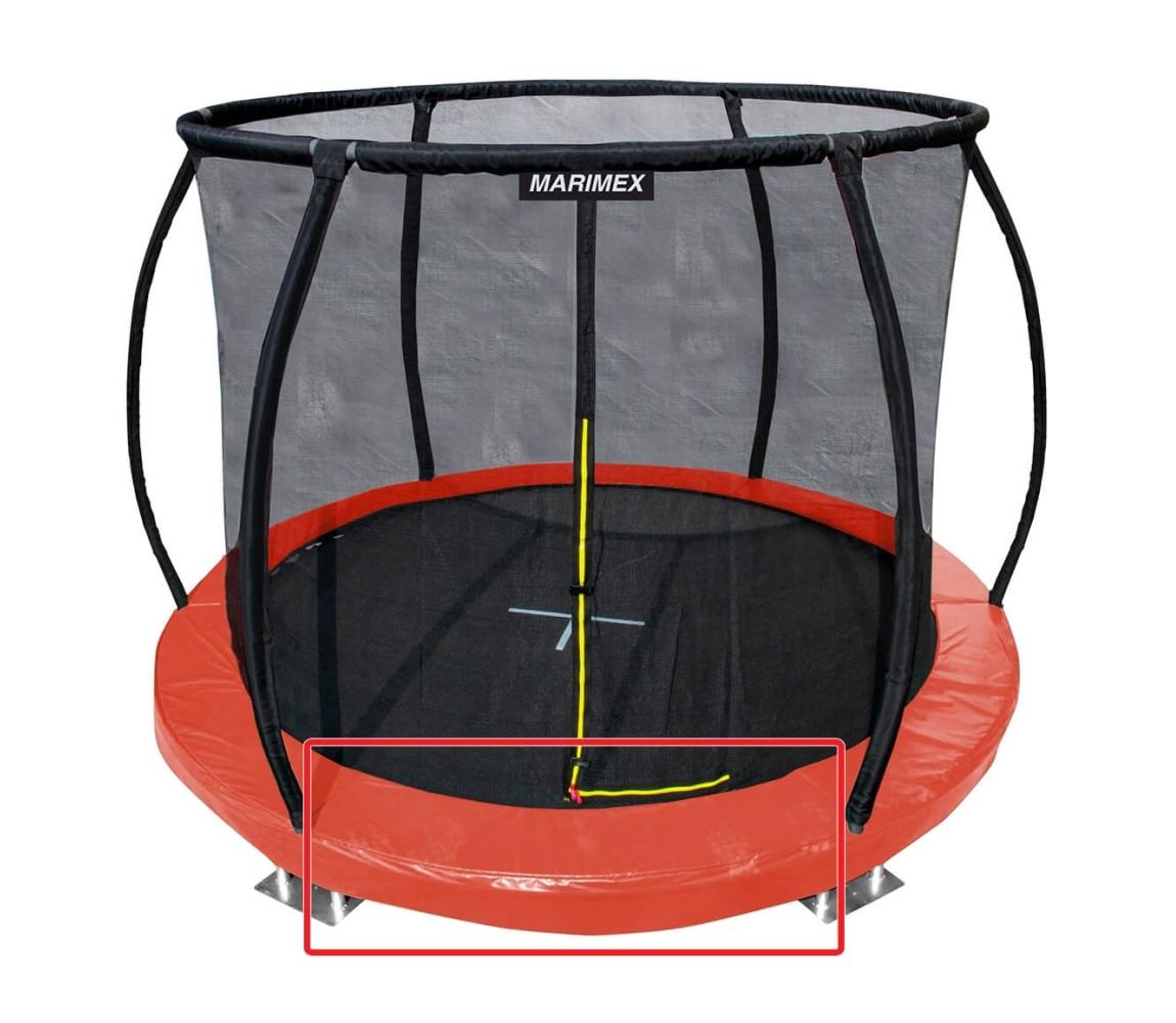 Kryt pružín oranžový - trampolína Marimex Premium in-ground 366 cm