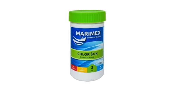 Marimex Chlor Šok 0,9 kg