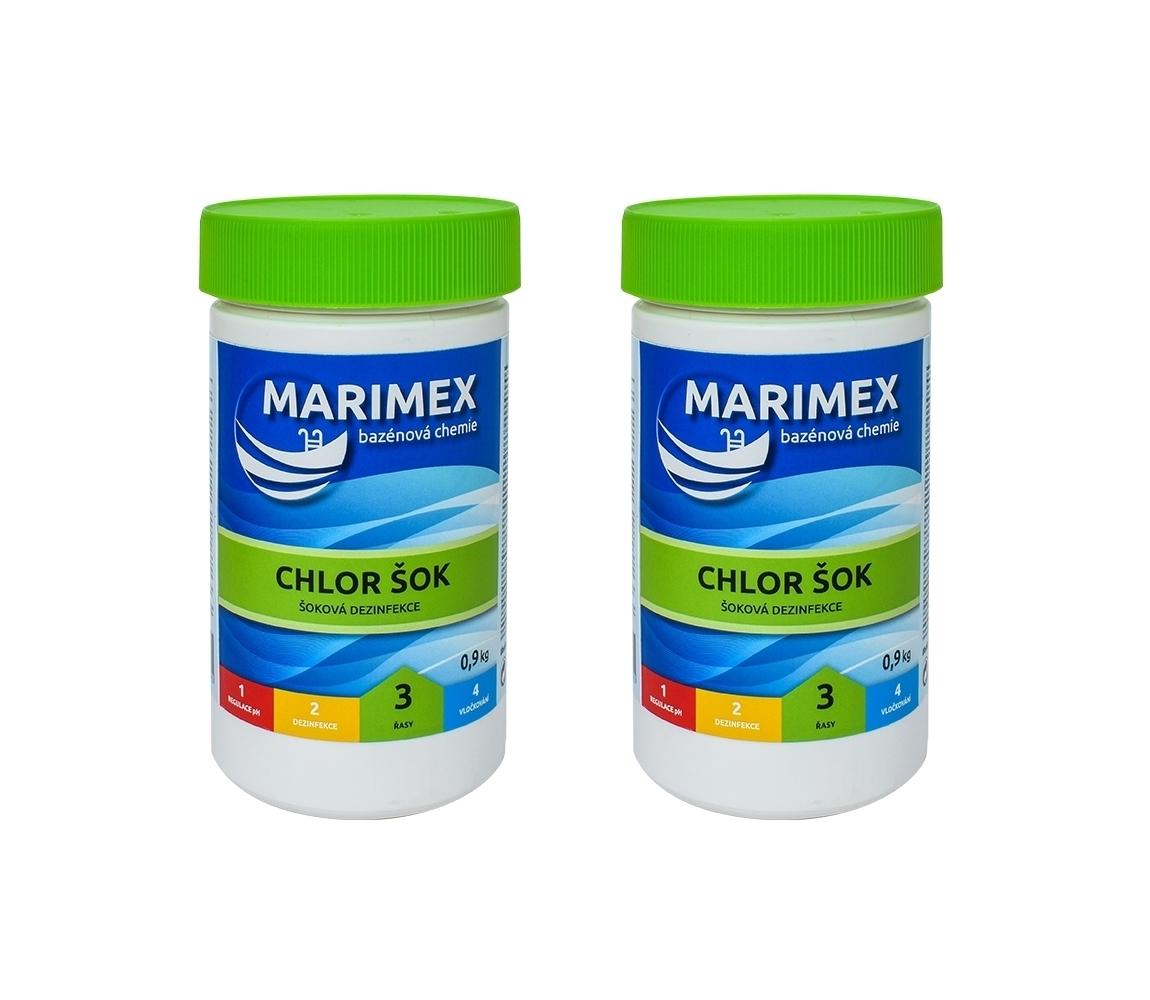 Marimex Chlor Šok 0,9 kg - sada 2 ks