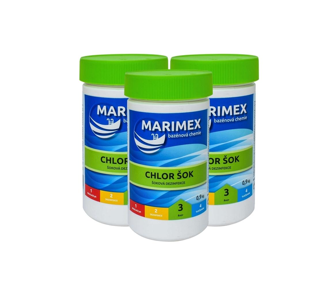 Marimex Chlor Šok 0,9kg - sada 3ks